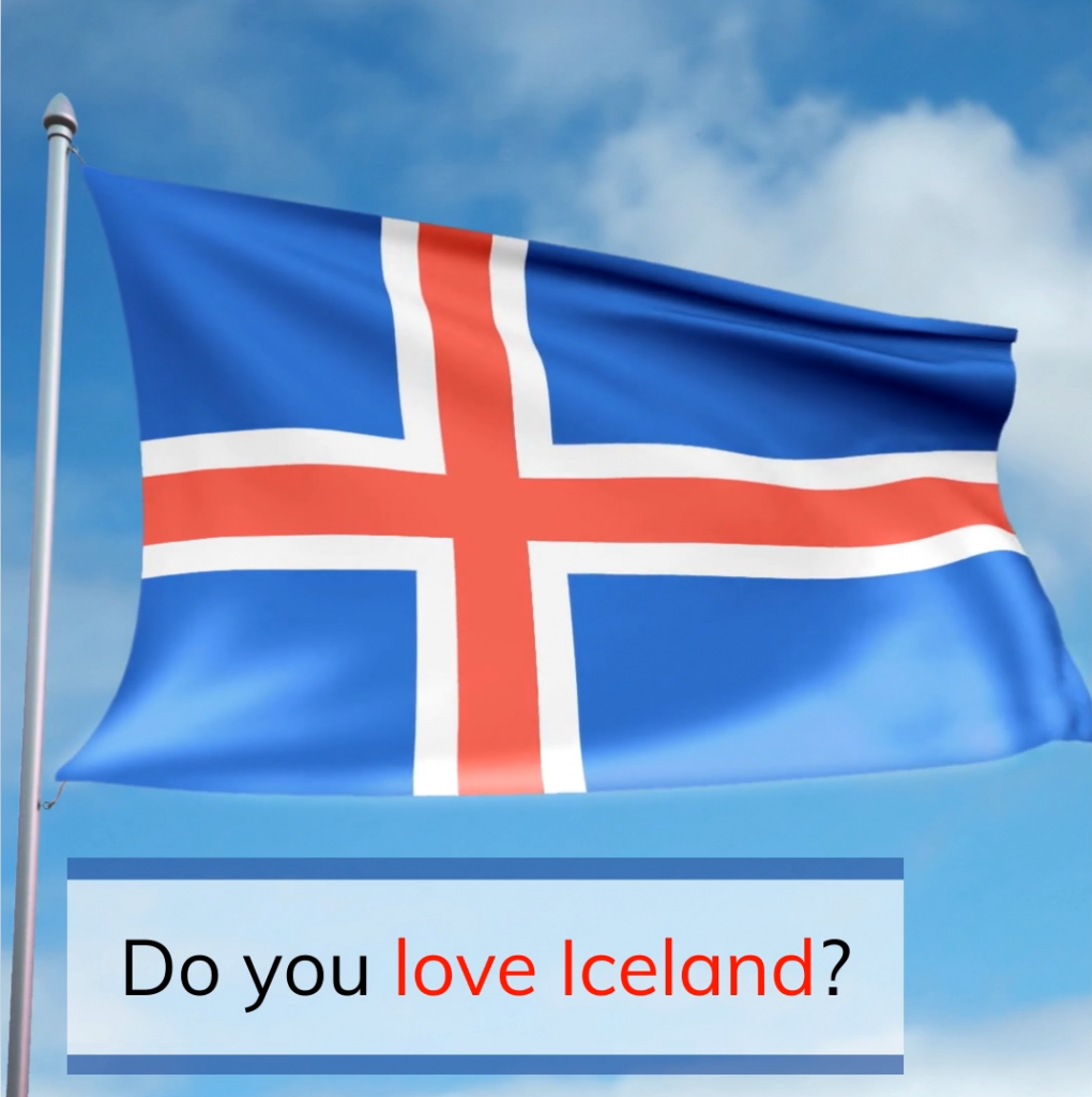 Iceland – Square Video with Stock Footage and my own Photos