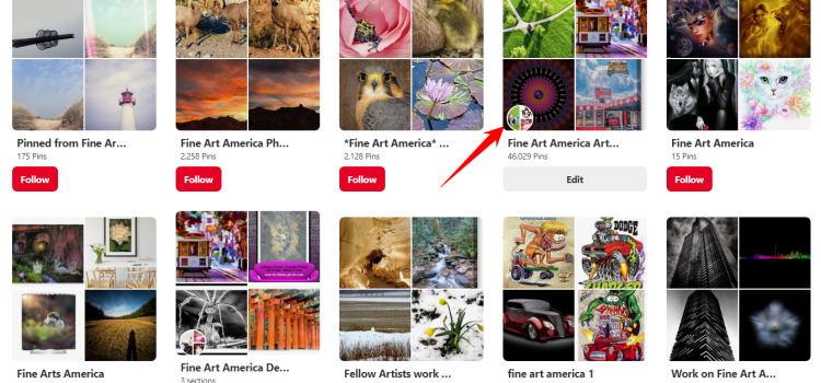 What are Pinterest Group Boards, and how do they work for Artists?